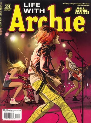 Life With Archie Married Life #24 Fiona Staples Cover