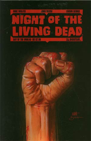 Night Of The Living Dead Day Of The Undead GN Regular Cover