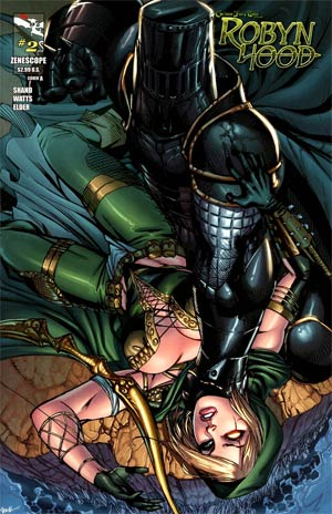 Grimm Fairy Tales Presents Robyn Hood #2 Cover A Ale Garza