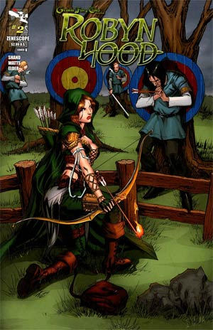 Grimm Fairy Tales Presents Robyn Hood #2 Cover B Tommy Patterson