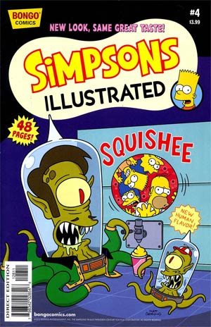 Simpsons Illustrated #4