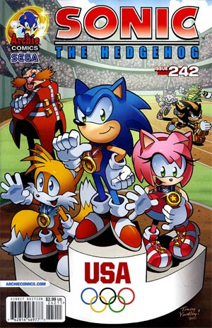 Sonic The Hedgehog Vol 2 #242