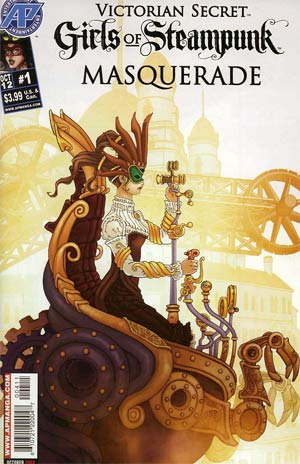 Victorian Secret Girls Of Steampunk Masquerade #1