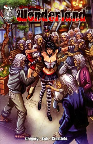 Grimm Fairy Tales Presents Wonderland Vol 2 #4 Cover B Sheldon Goh