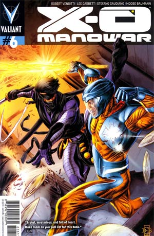 X-O Manowar Vol 3 #6 1st Ptg Regular Doug Braithwaite Cover