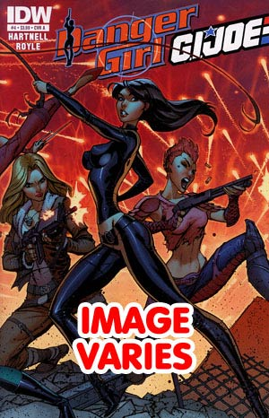 DO NOT USE Danger Girl GI Joe #4 Regular Cover (Filled Randomly With 1 Of 2 Covers)