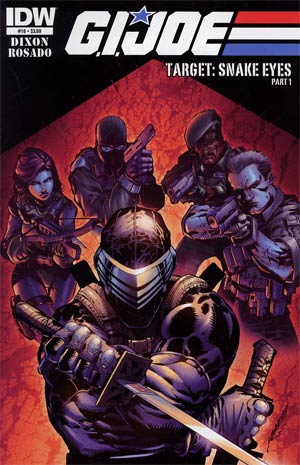 GI Joe Vol 5 #18 Regular Ken Loh Cover