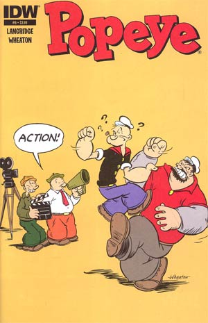 Popeye Vol 3 #6 Regular Ken Wheaton Cover