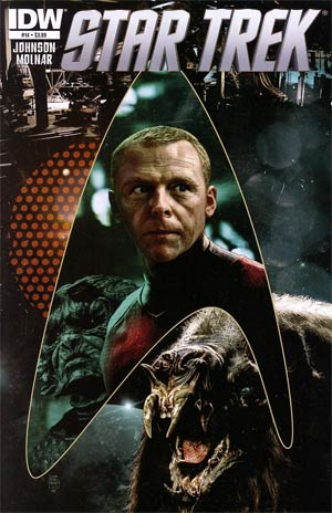 Star Trek (IDW) #14 Regular Tim Bradstreet Cover