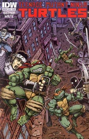 Teenage Mutant Ninja Turtles Vol 5 Annual 2012 Regular Kevin Eastman Cover