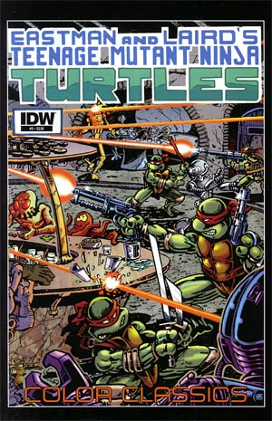 Teenage Mutant Ninja Turtles Color Classics #5