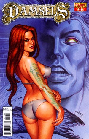 Damsels #2 Regular Joseph Michael Linsner Cover