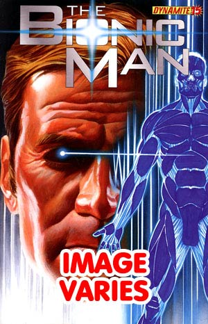 Bionic Man #15 Regular Cover (Filled Randomly With 1 Of 2 Covers)