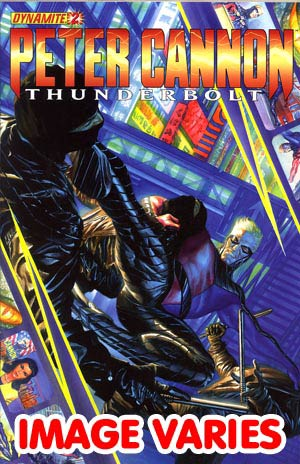 DO NOT USE Peter Cannon Thunderbolt Vol 2 #2 Regular Cover (Filled Randomly With 1 Of 4 Covers)