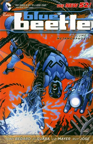Blue Beetle Vol 1 Metamorphosis TP