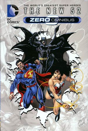 DC Comics The New 52 Zero Omnibus HC