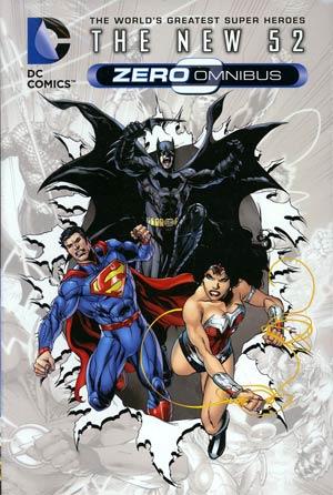 DC Comics The New 52 Zero Omnibus HC (New 52)