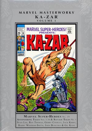 Marvel Masterworks Ka-Zar Vol 1 HC Regular Dust Jacket