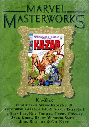 Marvel Masterworks Ka-Zar Vol 1 HC Variant Dust Jacket