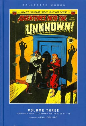 ACG Collected Works Adventures Into The Unknown Vol 3 HC