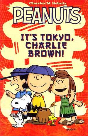 Peanuts Its Tokyo Charlie Brown GN