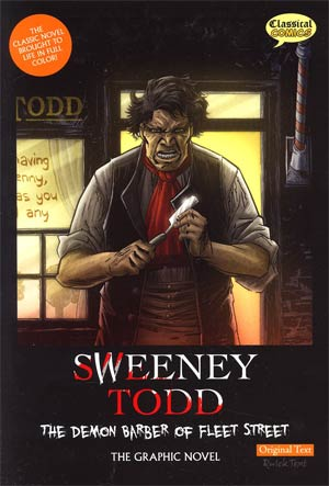 Sweeney Todd Demon Barber Of Fleet Street GN Original Text Edition