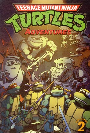 Teenage Mutant Ninja Turtles Adventures Vol 2 TP
