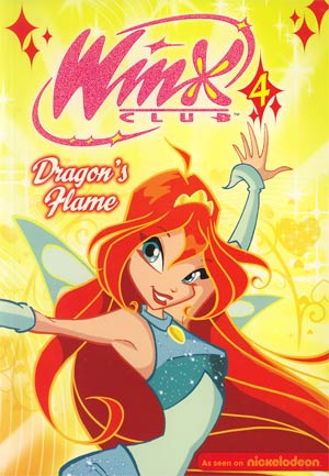 Winx Club Vol 4 Dragons Flame GN