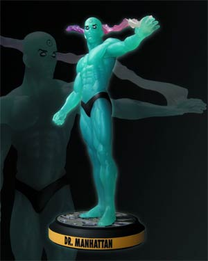 Before Watchmen Dr Manhattan Statue