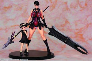 Queens Blade Weapon Merchant Cattleya Suke-Suke Version PVC Figure