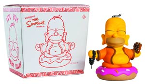 Simpsons Homer Buddha Vinyl Figure