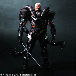 Metal Gear Solid 2 Play Arts Kai Solidus Snake Action Figure