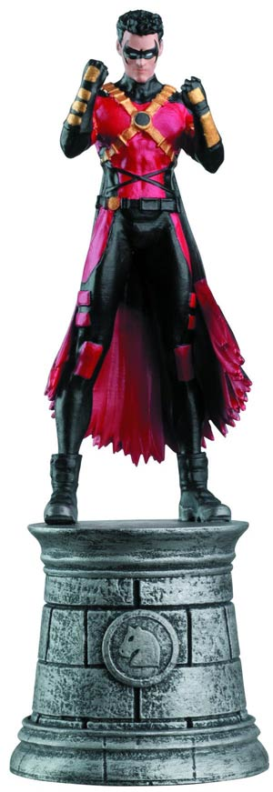 DC Superhero Chess Figure Collector Magazine #20 Red Robin White Knight