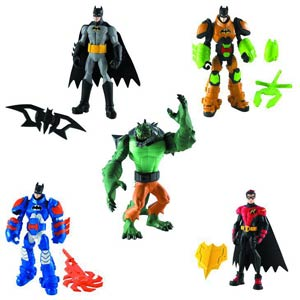 Batman Power Attack Mission Figure Action Figure Assortment Case