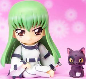 Code Geass Lelouch of the Rebellion Chibi-Arts - C.C. Figure