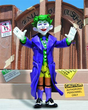 MAD Just-Us League Of Stupid Heroes Series 3 Alfred E Neuman As Joker Action Figure