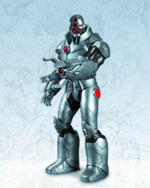 Justice League The New 52 Cyborg Action Figure