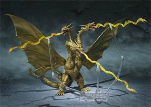 Godzilla S.H.MonsterArts - King Ghidorah Action Figure
