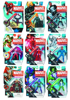 Marvel Universe Action Figure Assortment Case 201203