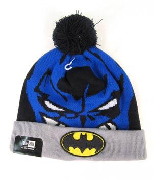 Woven Biggie Knit Cap - Batman