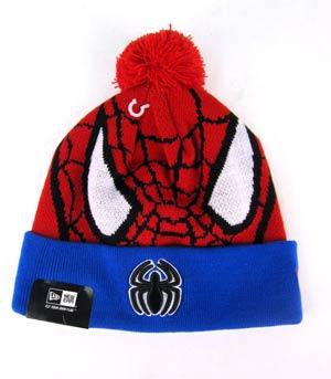 Woven Biggie Knit Cap - Spider-Man