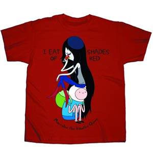 Adventure Time I Eat Shades Of Red T-Shirt Large