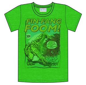 Fin Fang Foom Previews Exclusive Green T-Shirt Large