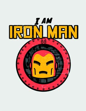 Marvel x tokidoki Im Iron Man T-Shirt Large