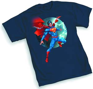 Superman 52 By Kenneth Rocafort T-Shirt Large