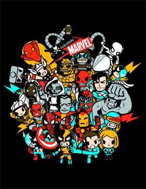Marvel x tokidoki Superstars Hoodie Large