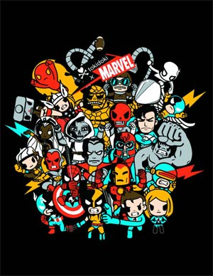 Marvel x tokidoki Superstars Hoodie X-Large
