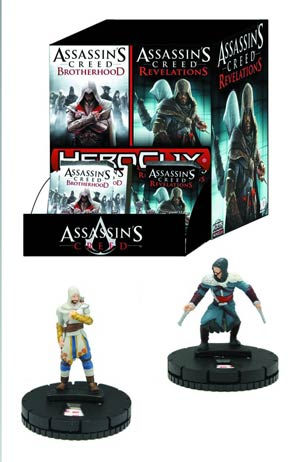 Assassins Creed HeroClix Brotherhood 24-Count Gravity Feed Display