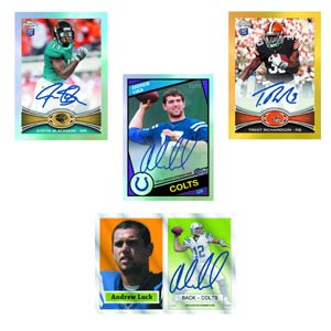Topps 2012 Chrome Football Trading Cards Box