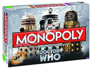 Monopoly Doctor Who 50th Anniversary Edition